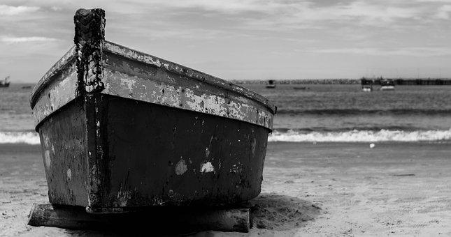 Boat, Beach, Mar, Sol, Travel, Water, Trapiche, Canoe