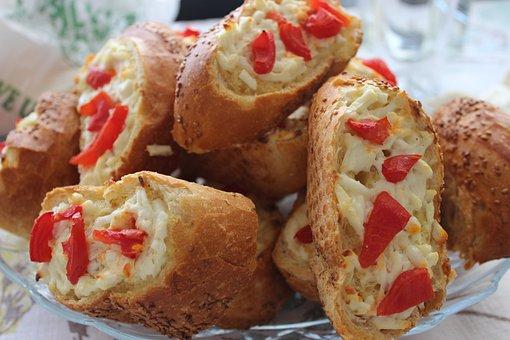 Breakfast, Bread, Roasted Bread