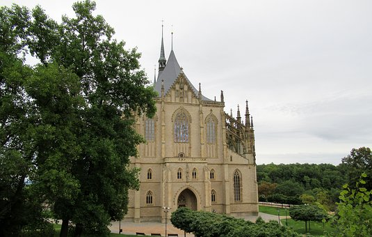 Czech Republic, Kutna-hora, Cathedral Of St Barbara