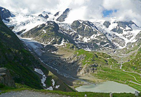 Switzerland, Central Alps, Susten Pass, View, Mountains