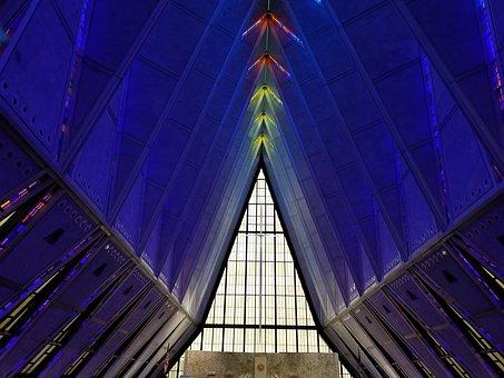 Air Force Academy Chapel, Chapel, Colorado Springs