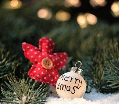Christmas, Christmas Angel, Christmas Bauble