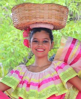 Nicaragua, Folklore, Youth, Danza Folklorica, Managua