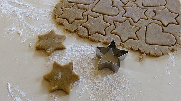 Baking, Cookies, Gingerbread, Christmas, Bake, Homemade