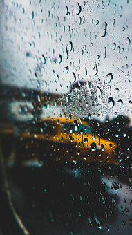 Travel, Travel Stories, India, Yellow, Rain, Raindrops