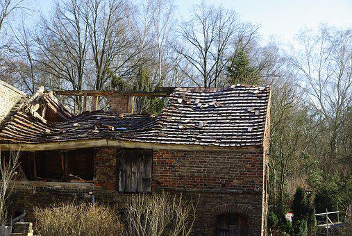 Old House, Landscape, Hut, Building, Old Building