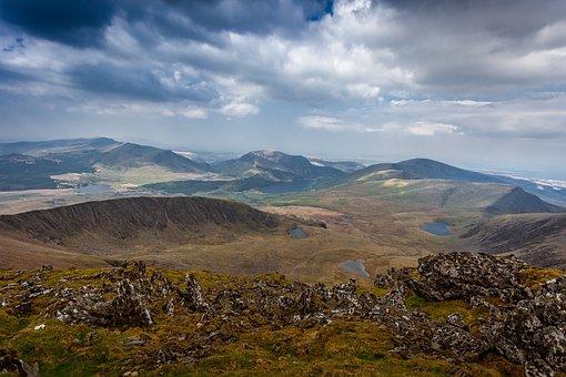 Snowdon, Mountain, Snowdonia, Wales, Park, National, Uk