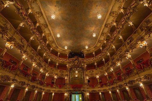 Munich, Theatre, Theater, Opera, Cityscape