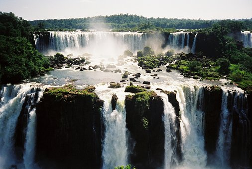 Brazil, Waterfalls, Iguazu, National Park