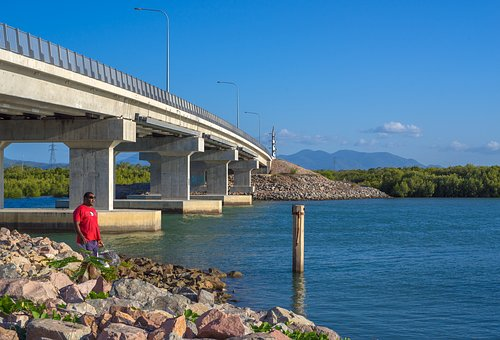 Bridge, Townsville Port Access, Overpass Bridge