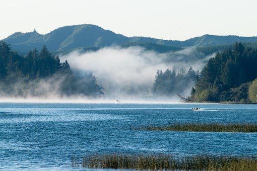 Rural Oregon, Siltcoos Lake, Oregon, Travel, Vacation