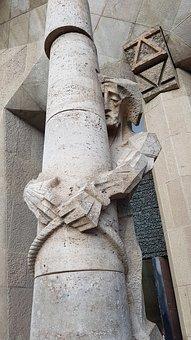 Sagrada Familia, Barcelona, Gaudi, Antonio Gaudi, Jesus