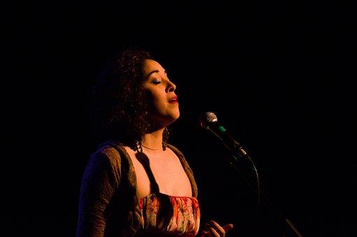 Singer, Women, Soloist, Music, Artist, Microphone