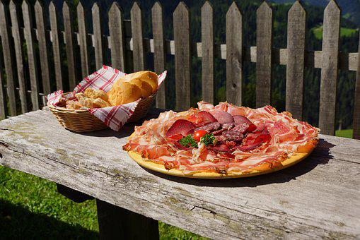 Bacon, Bacon Plate, Jause, South Tyrol