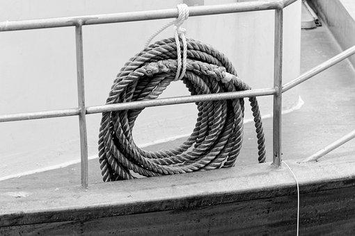 Rope, Sea, Boat, Node, Fixing, Tie, Bridge, Stowage