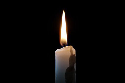 Candle, The Flame, Light, Glow, The Darkness, To Clear