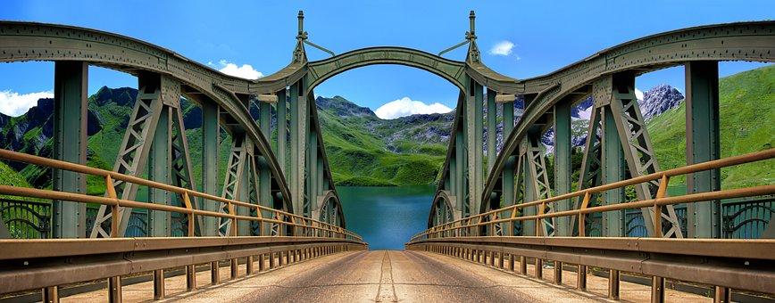 Bridge, Nature, Road, Journey, Track, Arch, Bridges