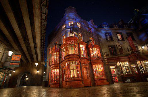 Weasleys' Wizard Wheezes, Diagon Alley, Harry Potter