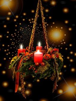 Advent, Christmas Time, Advent Wreath, 3advent