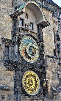 Prague, Astronomical Clock, Historic Center