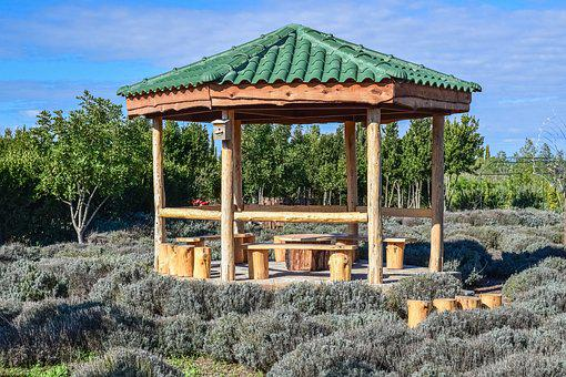 Cyprus, Avgorou, Cyherbia, Botanical Gardens And Maze