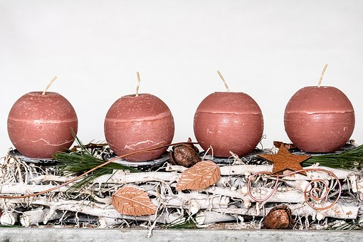 Advent Wreath, Advent, Christmas Time, Candles