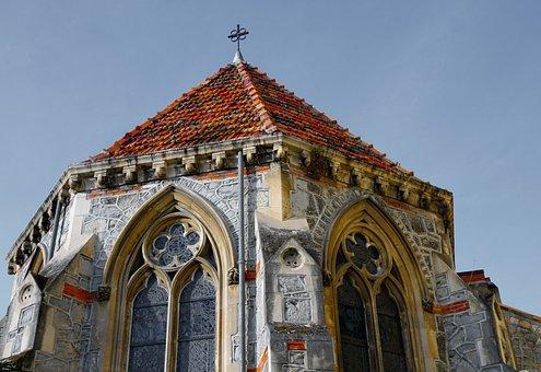 Church, Menton, English, Catholic, Holiday, Holidays