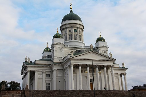 Helsinki Cathedral, Cathedral, Architecture, Church