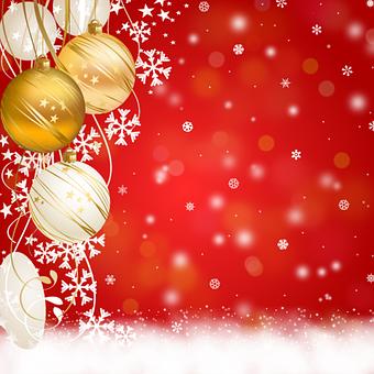Background Christmas, Ornaments, Congratulation