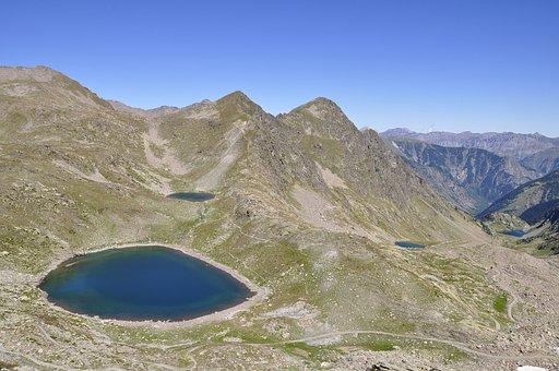 Mountain, Lake, Landscape, Excursion