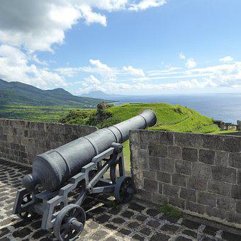Cannon, Fort, Fortress, Tourism, Island, Fortification