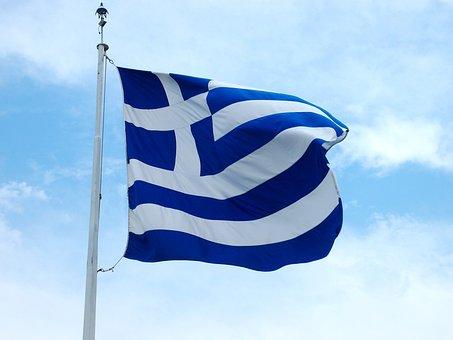 Flag, Greece Flag, Greece, Symbol, The Nation, The Mast