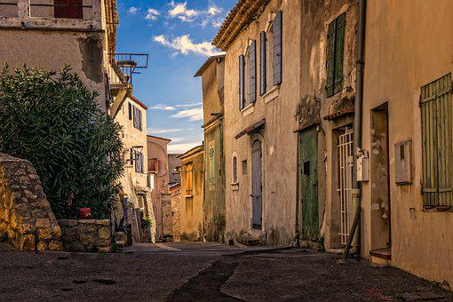 Alley, Road, Old Town, Historically, Old, France, South