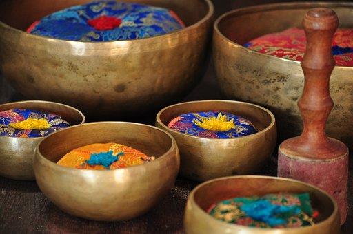 Music, Instrument, Singing Bowl, Gong, Meditation, Asia