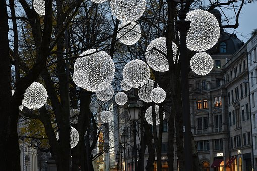 Light, Lamps, Evening, Lighting, Bulbs, Electric Light