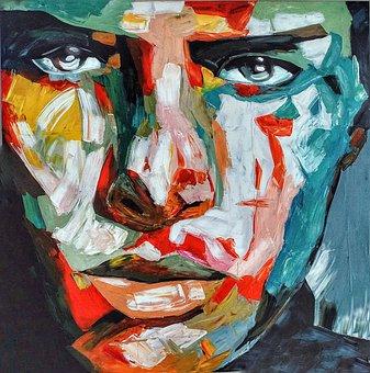 Art, Man, Male, Head, Face, Myanmar, Burma