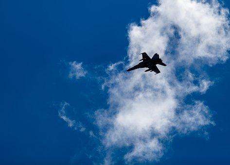 Jet, Fighter Jet, Fa-18 Hornet, Mcdonnell Douglas