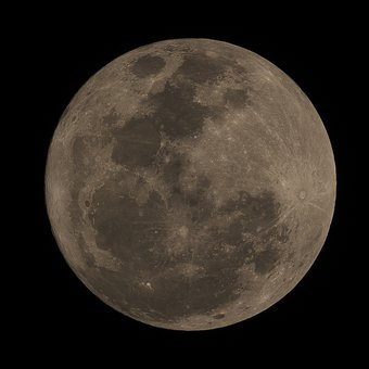 Moon, Natural Satellite, Phase Of The Moon