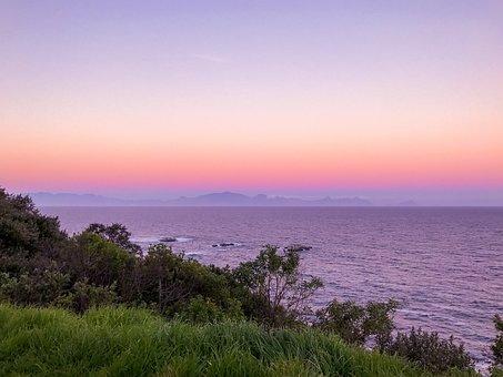 Scarborough, Simons Town, Cape Point, Ocean, Sunset