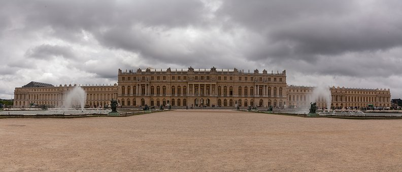 Versailles Palace, Panorama, France, Palace