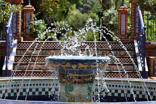 Fountain, Water, Water Games, Water Fountain, Park