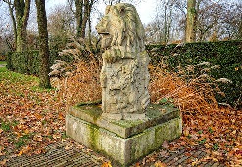 Lion, Stone Lion, Sculpture, Animal, Sculpted Animal