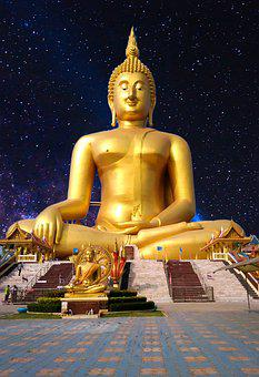 Measure, Buddha Statue, Thailand, Religion, Tour