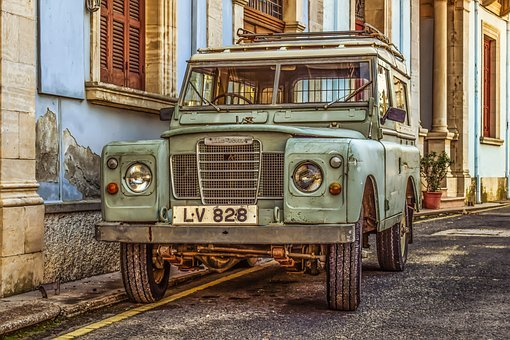 Land Rover, Car, Vehicle, 4x4, Street, Automobile, Jeep