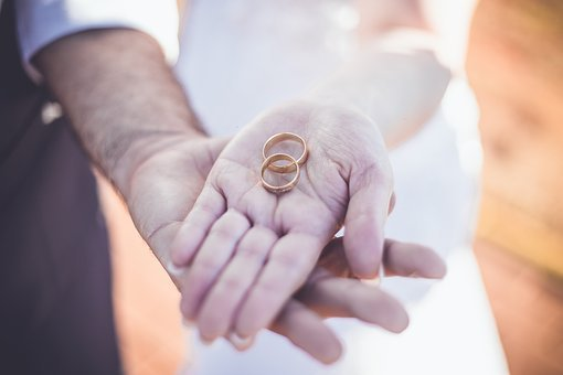 Alliance, Love, Casal, Grooms, Marriage, Married
