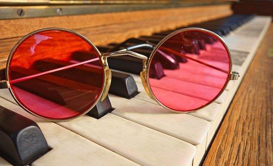 Glasses, Spectacles, Lens, Frame, Pink Glasses