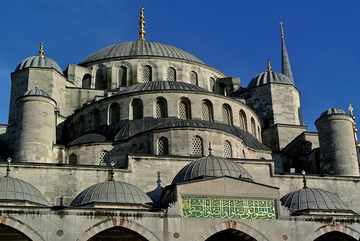 Blue Mosque, Istanbul, Sultan Ahmed Mosque, Turkey
