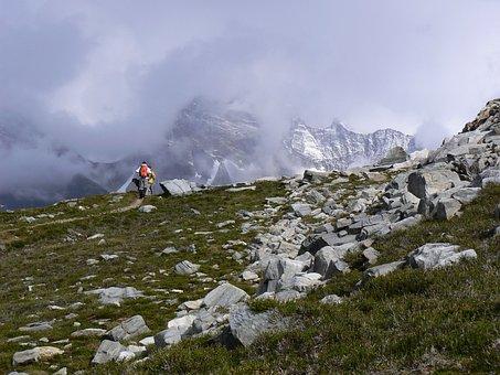 Mountains, Hiking, Canada, Glacier National Park