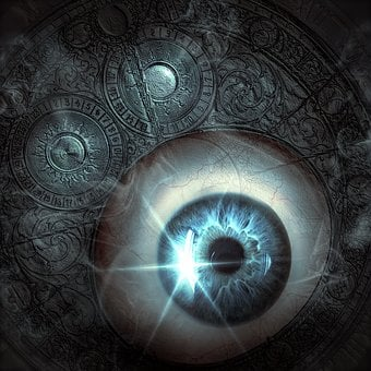 Cd Cover, Fantasy, Eye, Pattern, Mystical, Mysterious