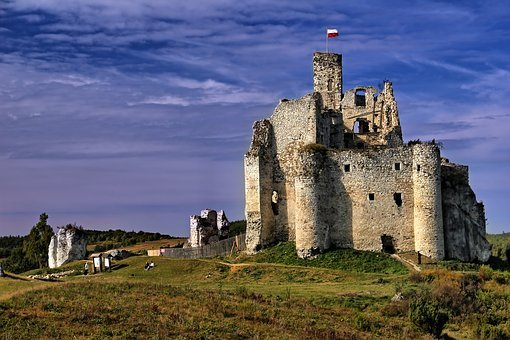 Castle, Mirow, Castle In Mirow, Monument, Poland